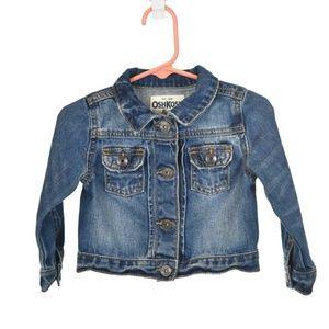 Oshkosh B'gosh Blue Medium Wash Denim Jacket